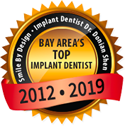Bay Area's Top Implant Dentist Seal